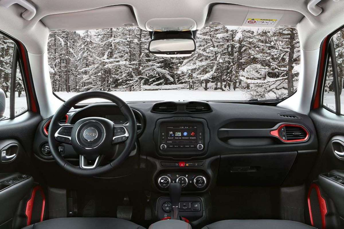 Jeep Renegade interni