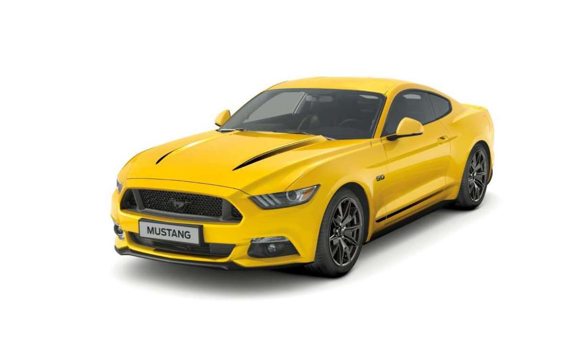 Motore di Ford Mustang Black Shadow