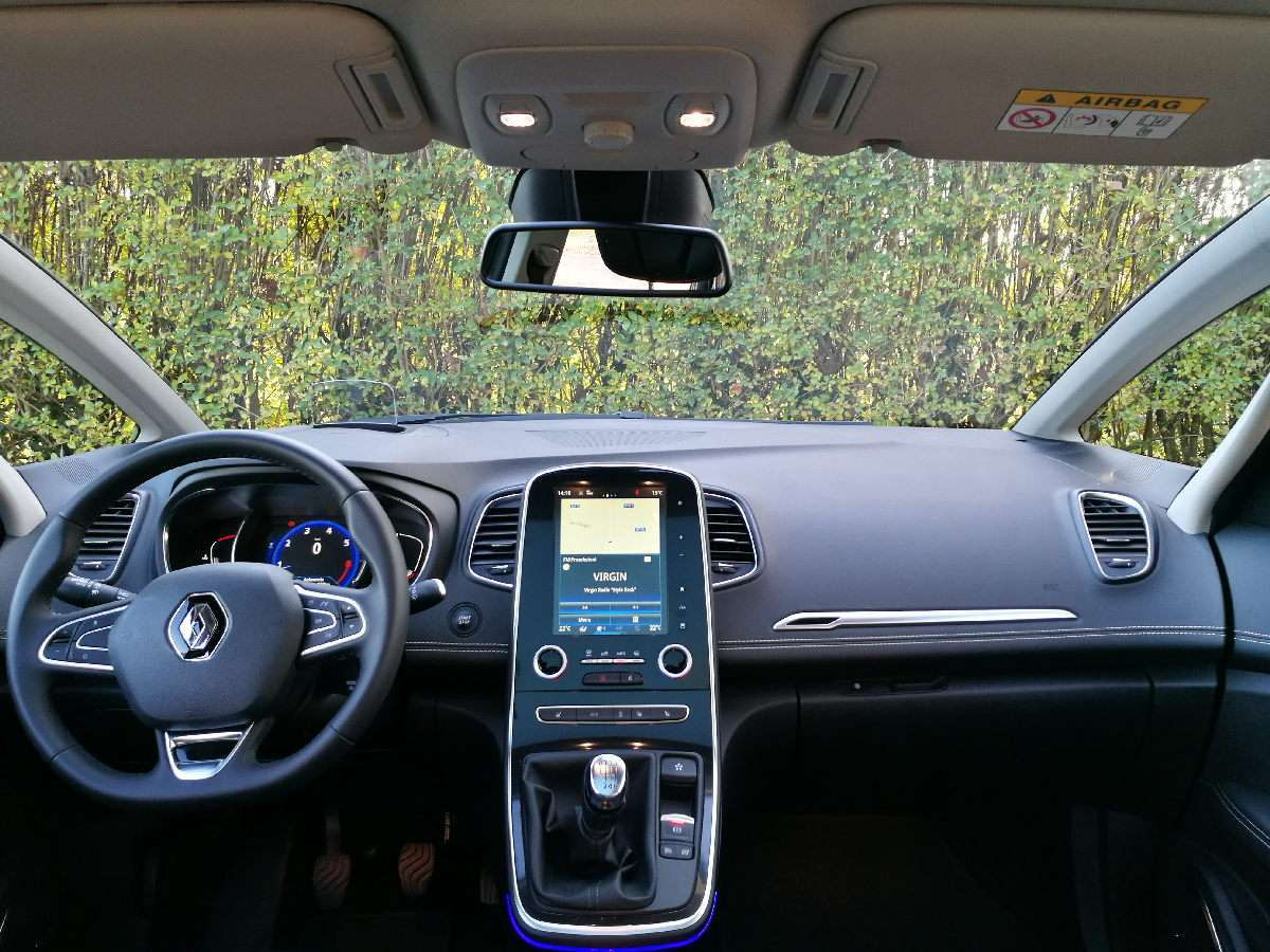 Renault Scenic Tce 2016 plancia