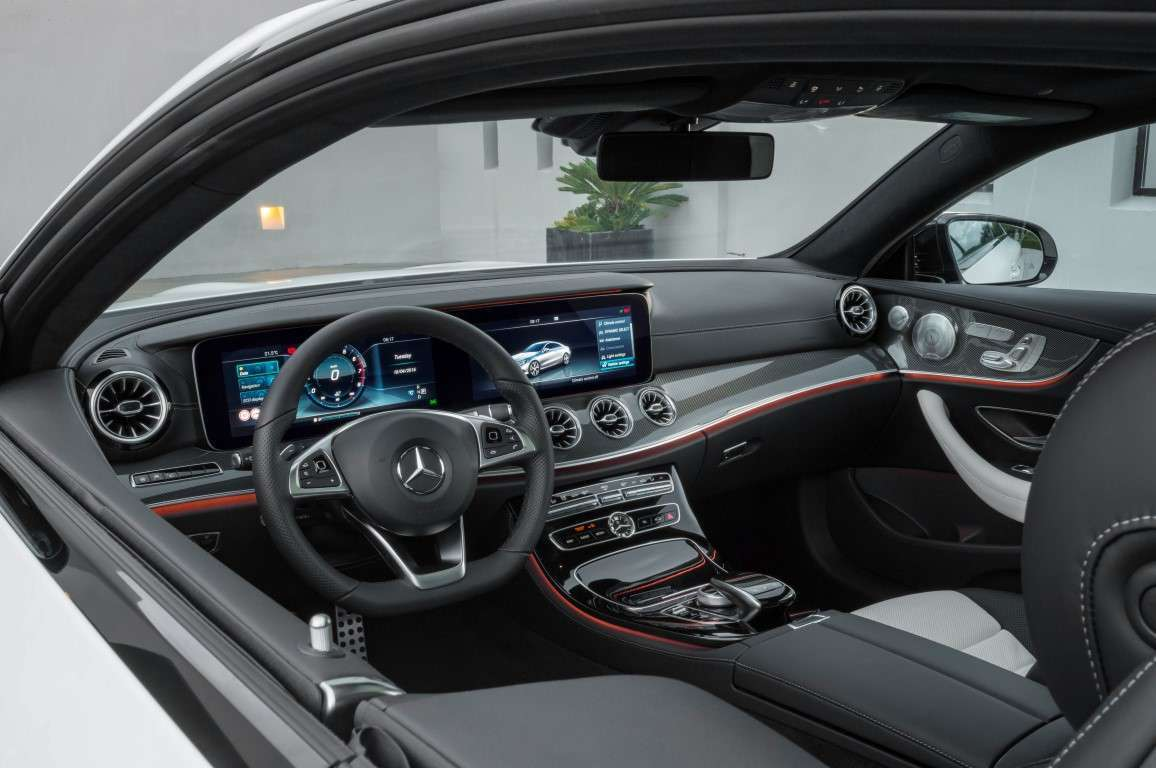 Nuova Mercedes Classe E Coupe, Widescreen Cockpit
