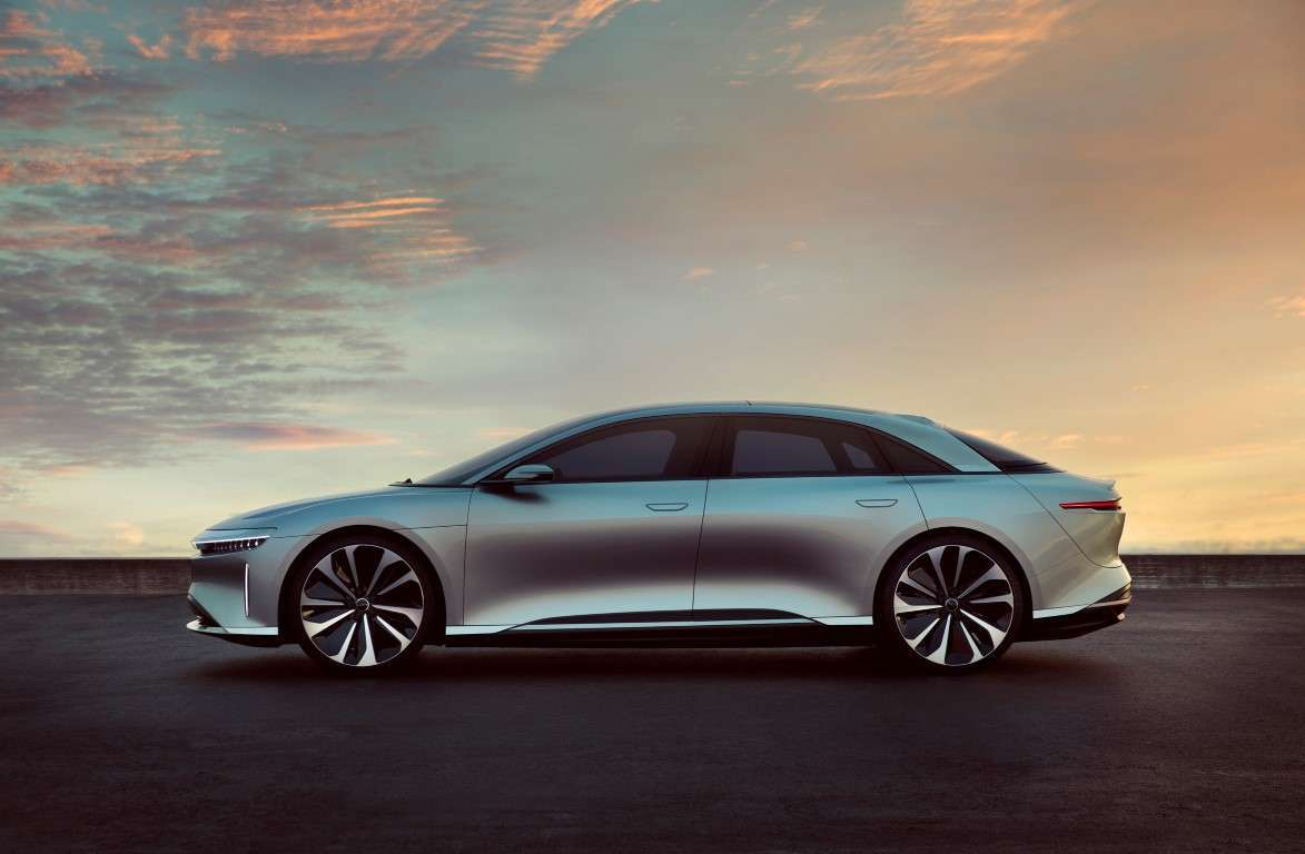Lucid Air, dimensioni