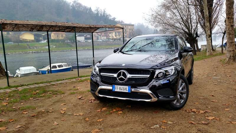 Mercedes GLC Coupé e Michelin CrossClimate: prova su strada