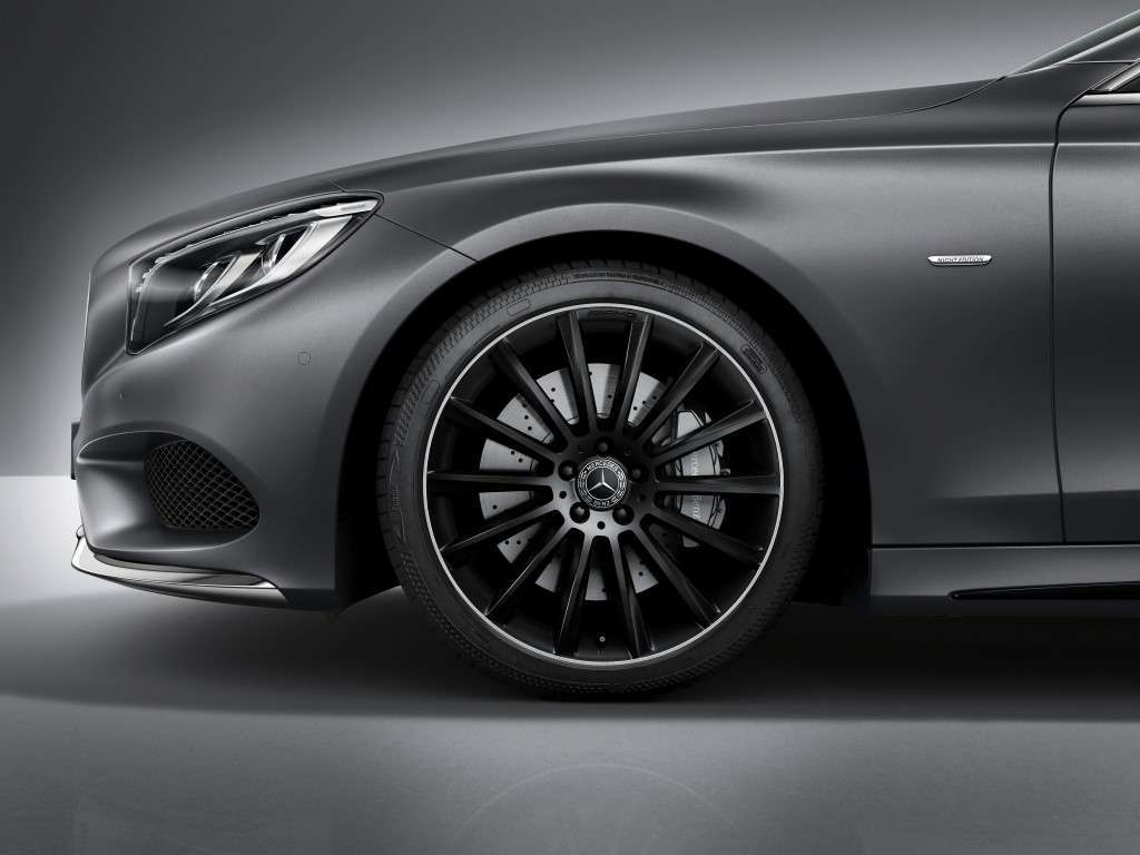 Cerchi di Mercedes Classe S Coupe Night Edition