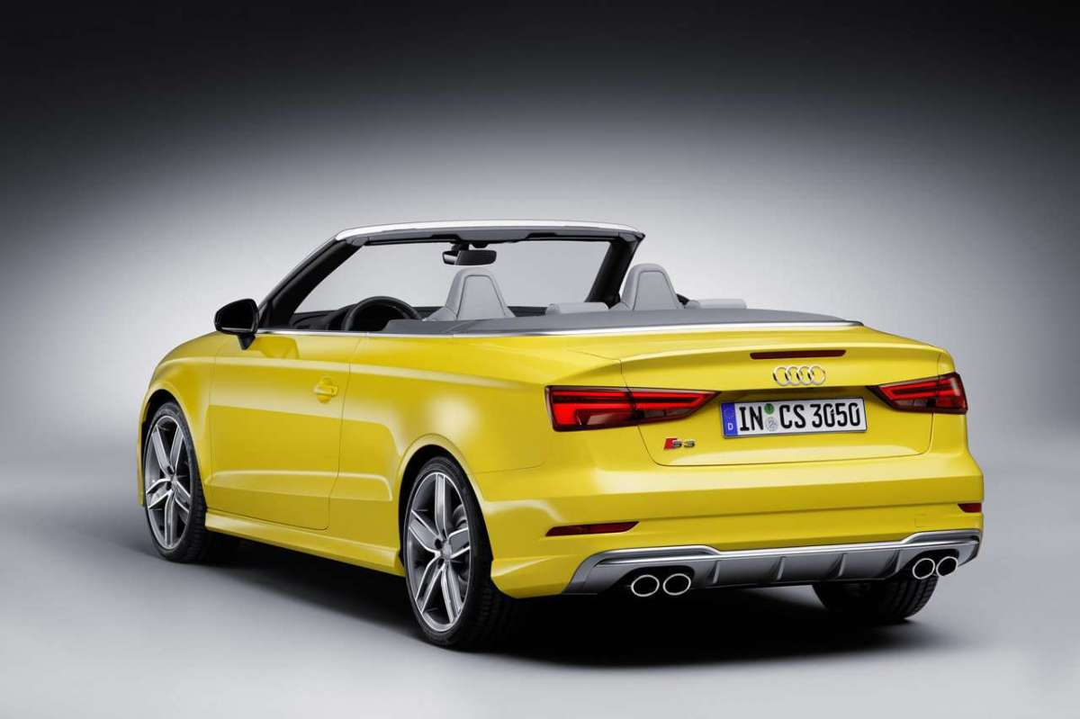Restyling per la S3 Cabriolet 2017