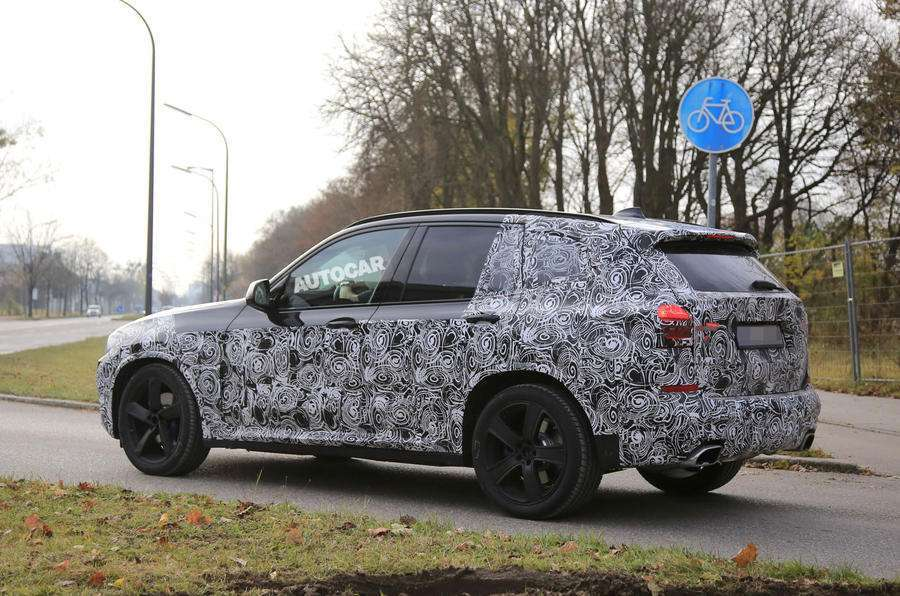 BMW X3 2017 laterale