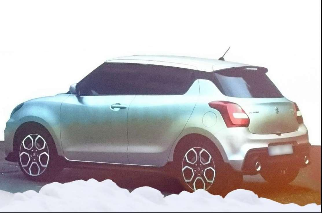 Suzuki Swift 2017 posteriore