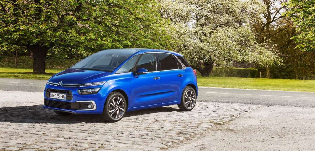 Citroen C4 Picasso restyling 2017