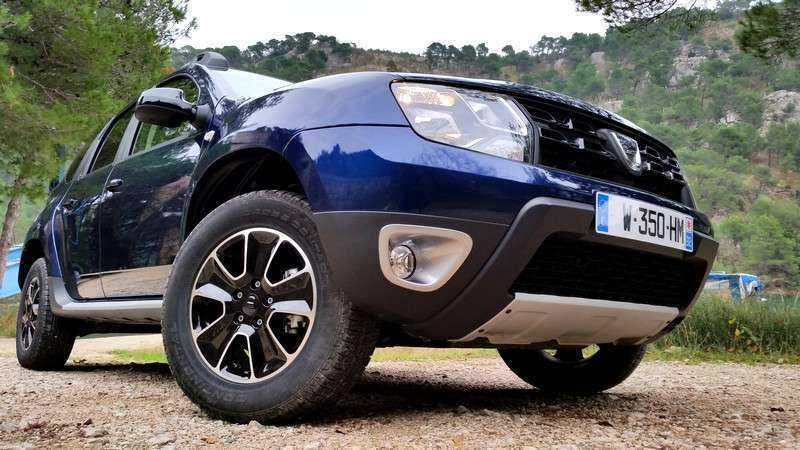Dacia Duster 2017 restyling
