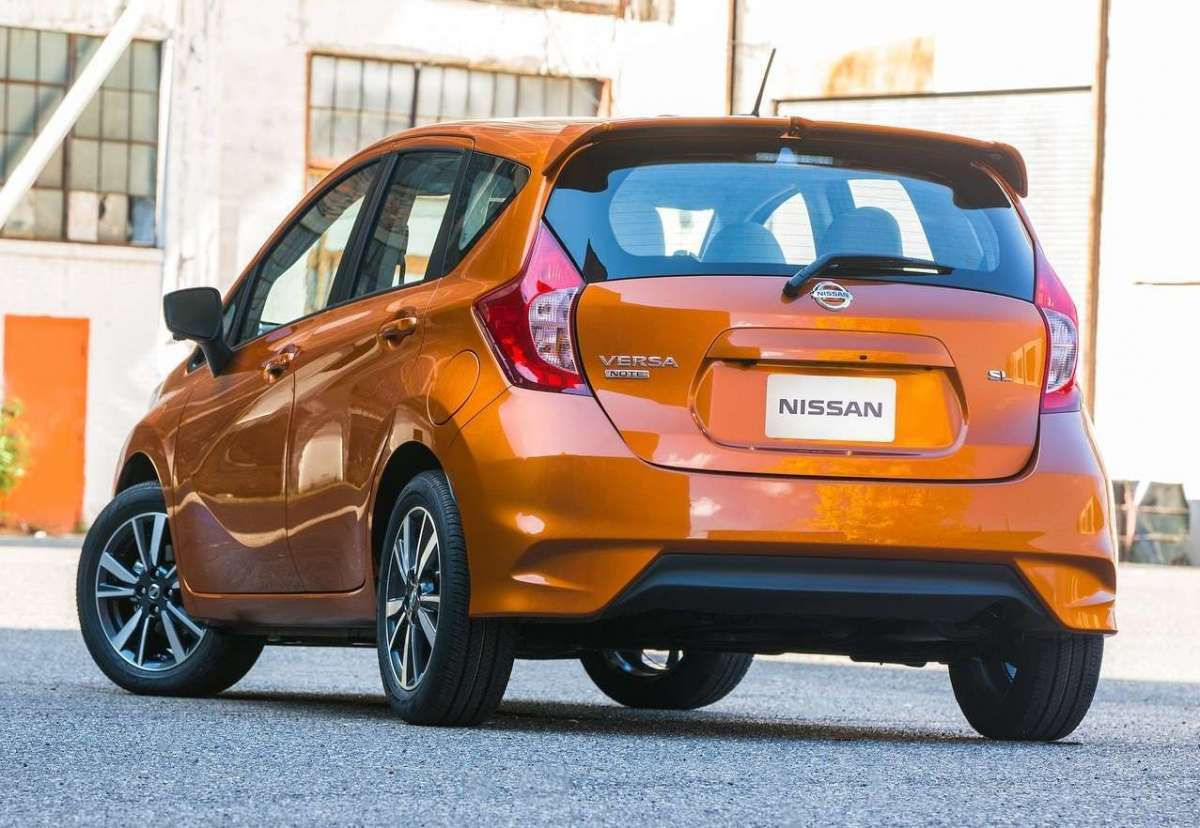 Nissan Note 2017 posteriore