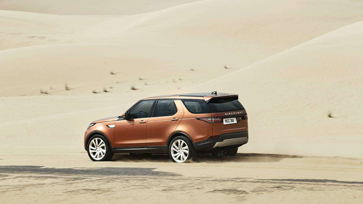 Land Rover Discovery posteriore