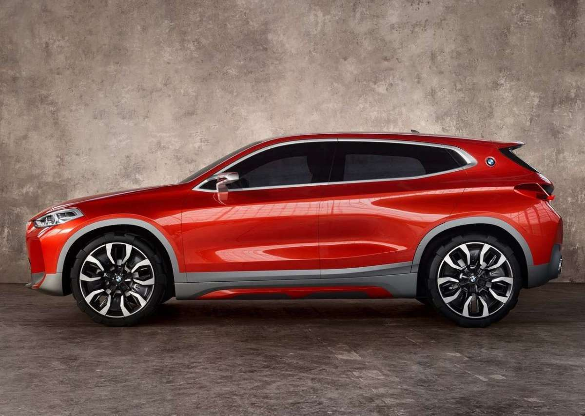 BMW X2 laterale