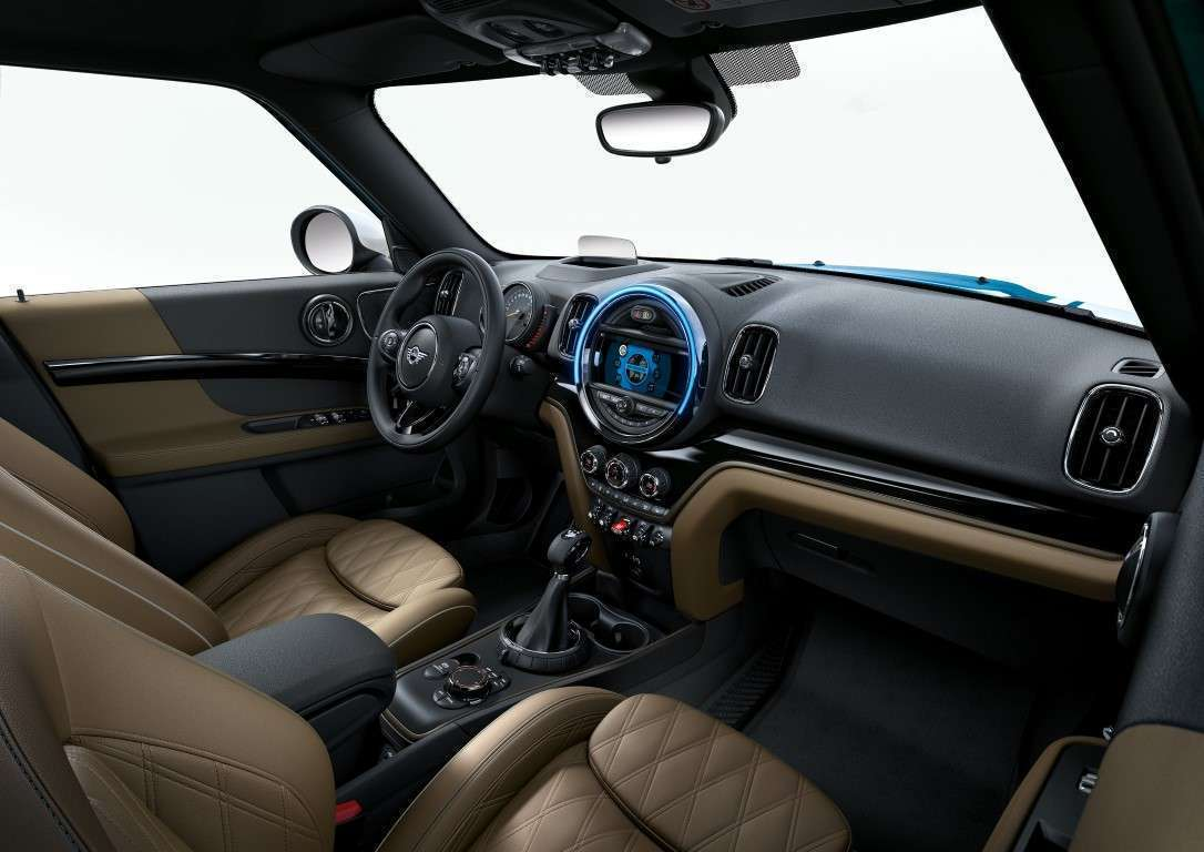mini countryman interni