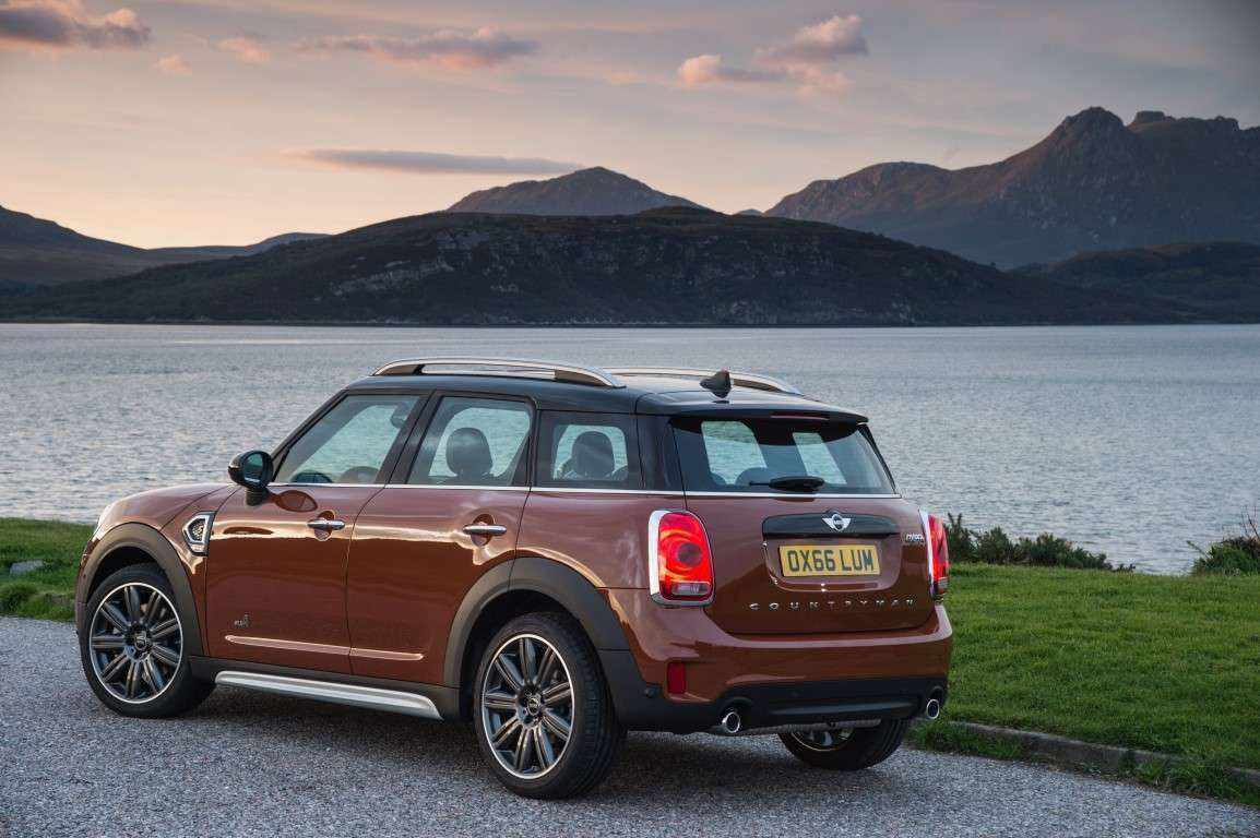 mini countryman posteriore