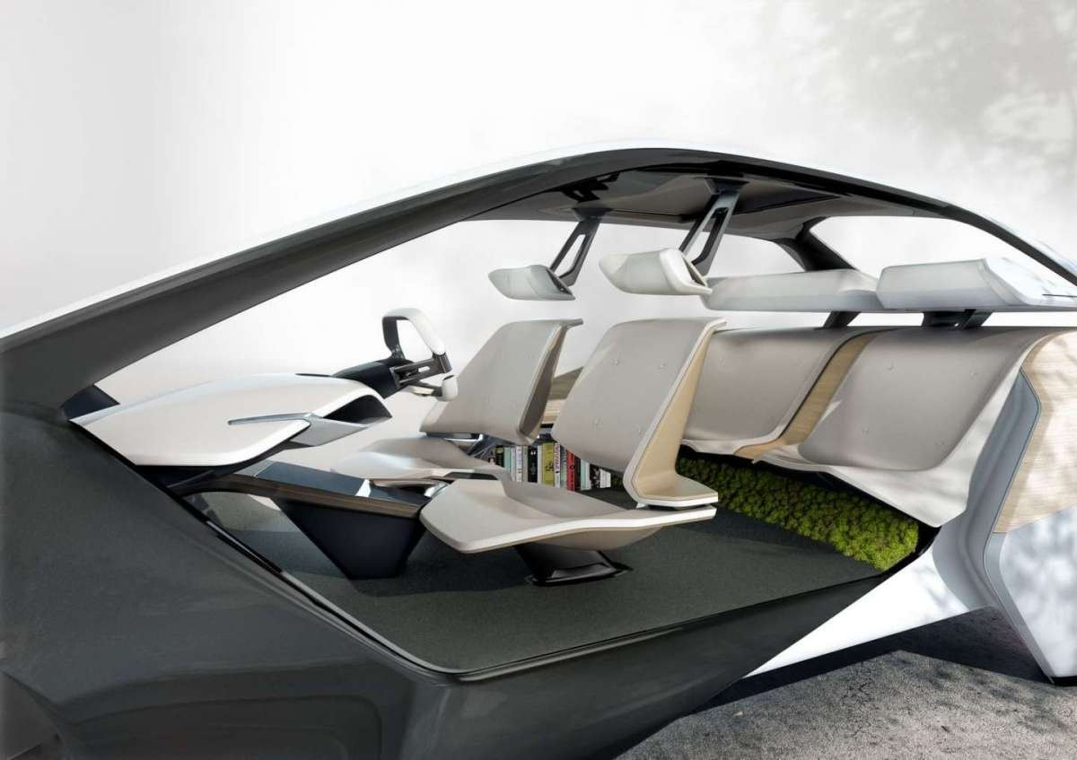 Interni BMW i Inside Future Concept