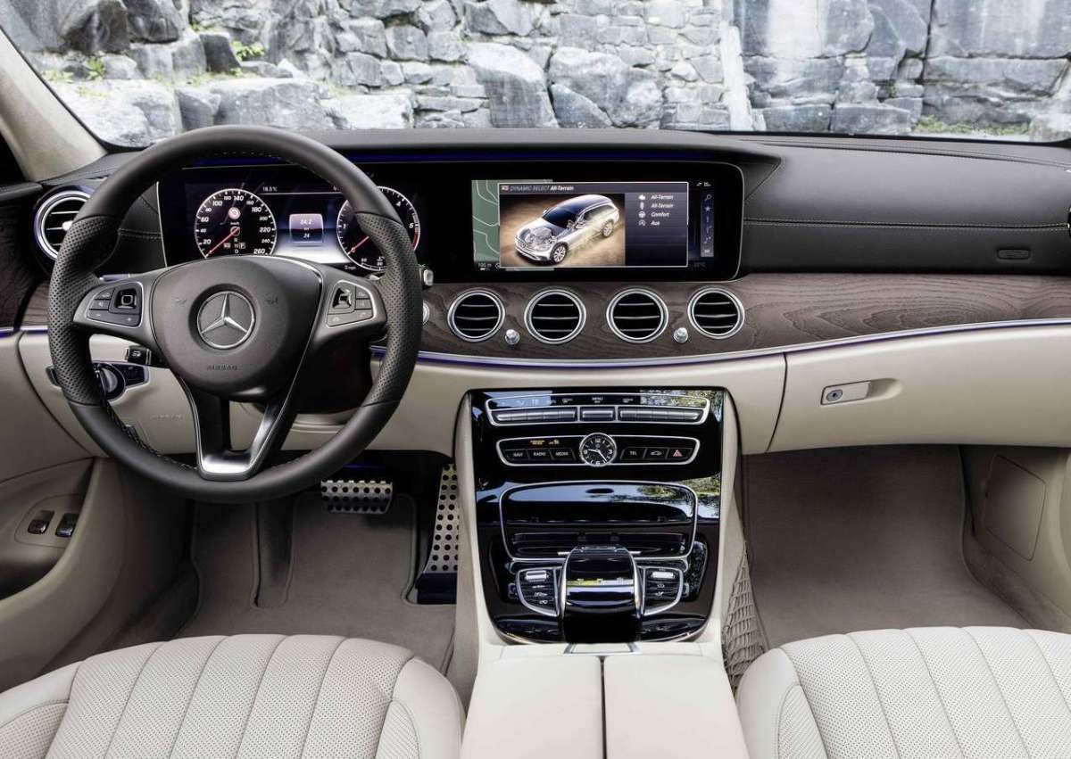 mercedes classe e all terrain interni