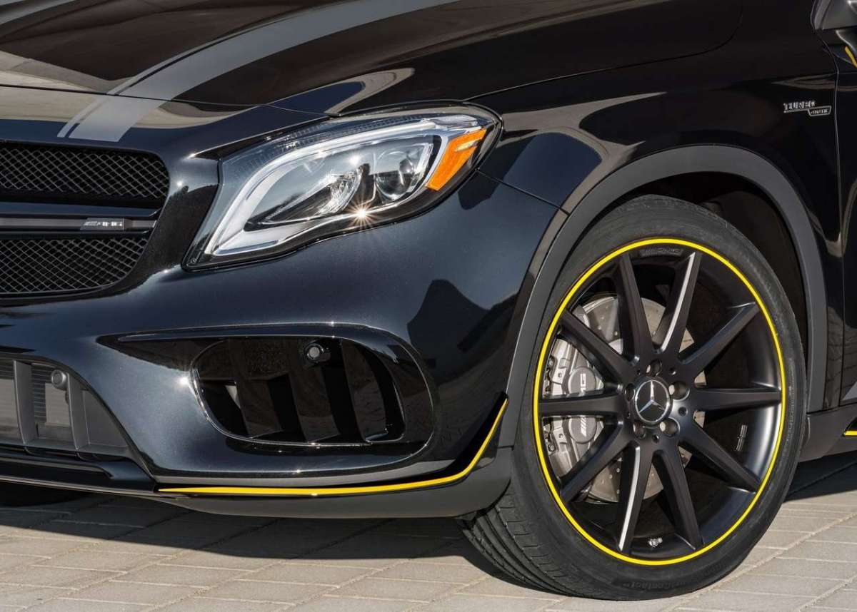 Cerchi di Mercedes GLA 45 Yellow Edition