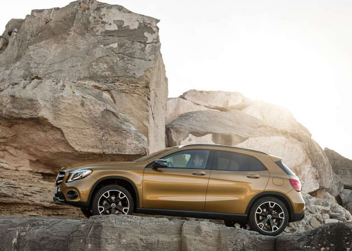 Mercedes GLA 220 restyling