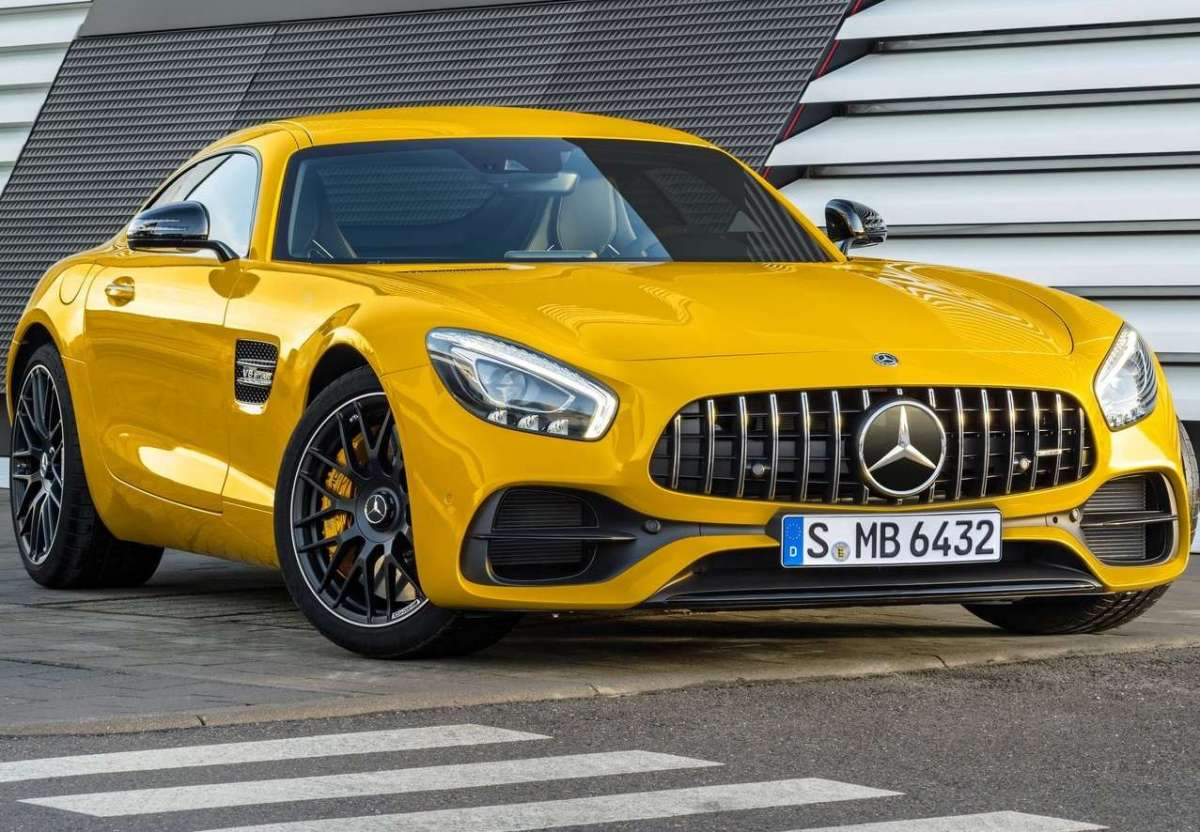 Mercedes AMG GT S 2017