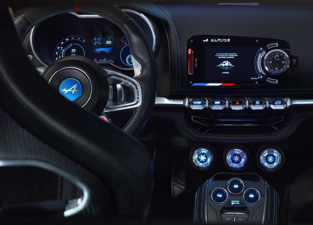 alpine vision interni