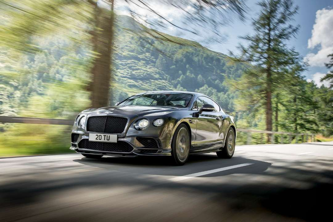 Bentley Continental Supersports MY 2017