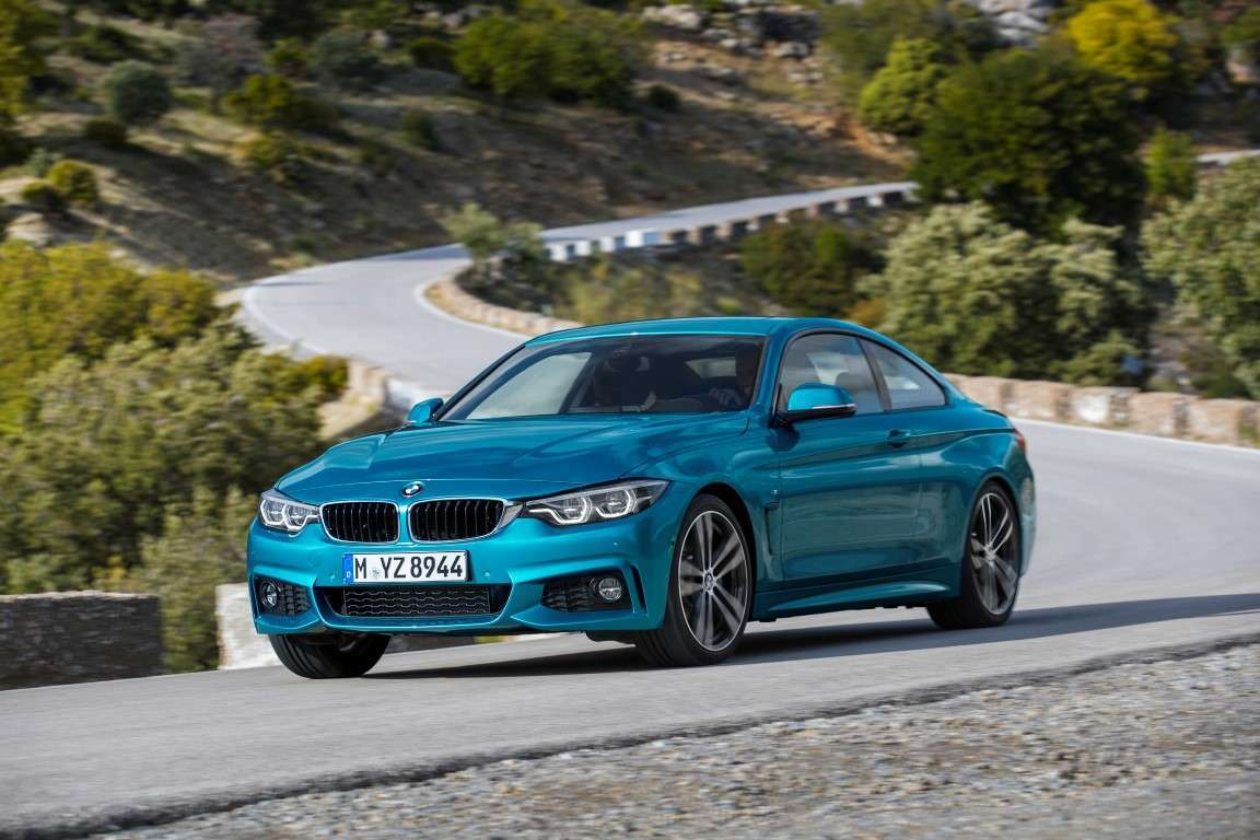 BMW Serie 4 coupe restyling