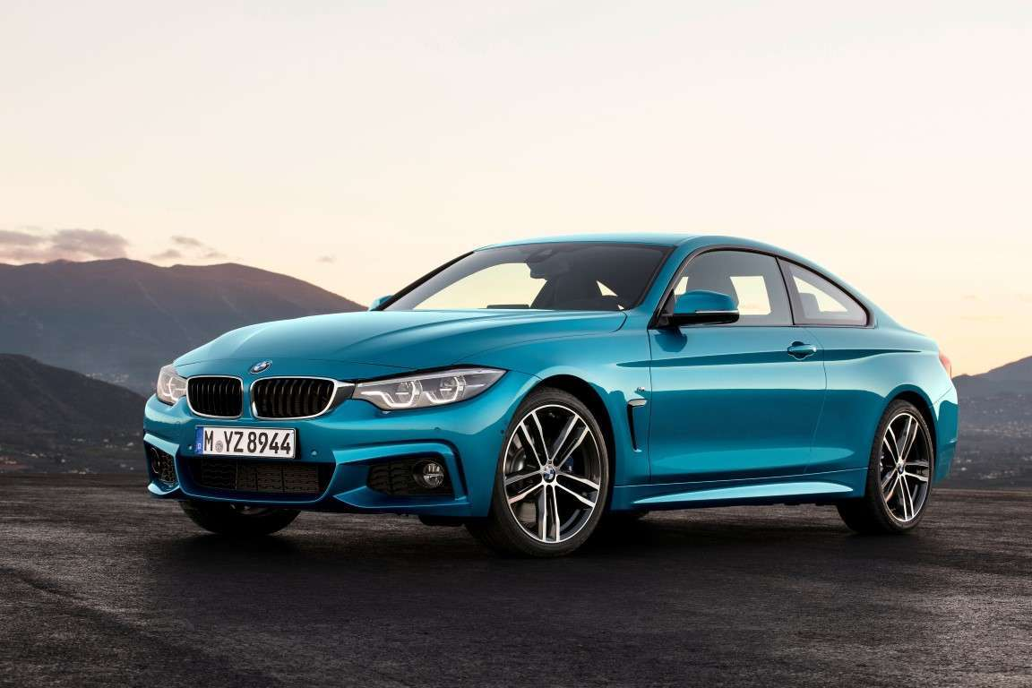 BMW Serie 4 coupe restyling, uscita