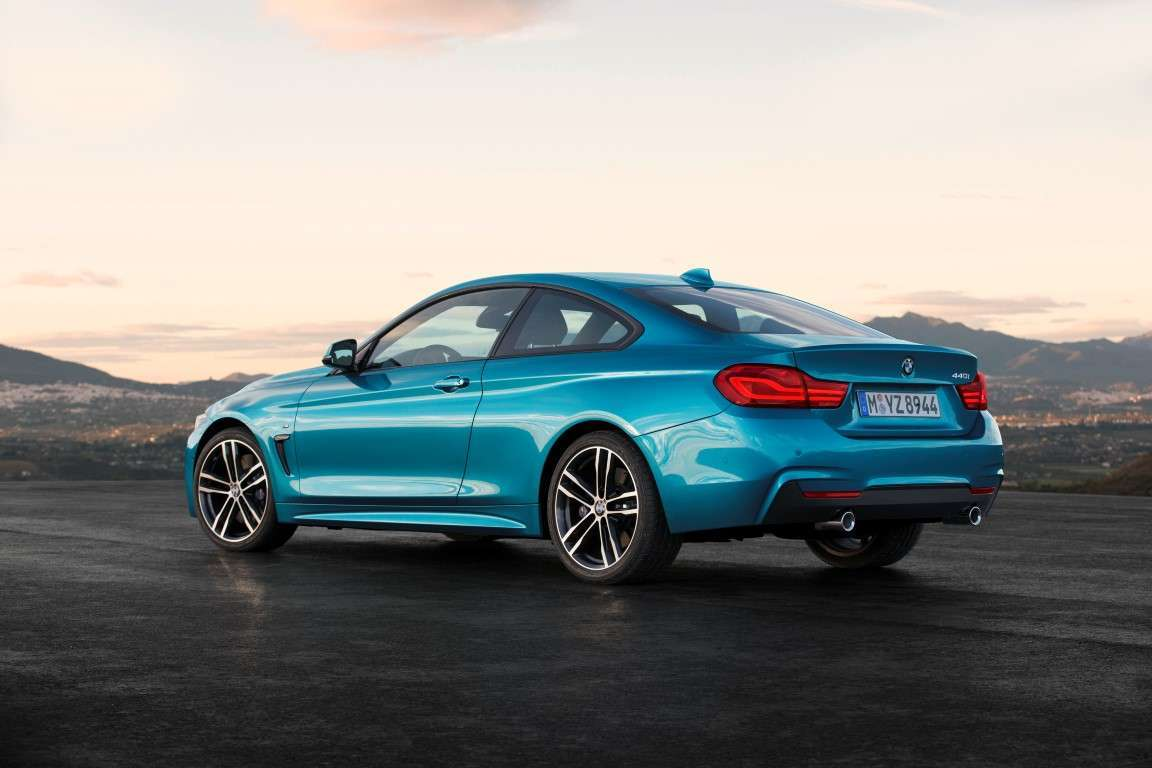 BMW Serie 4 coupe restyling, motori
