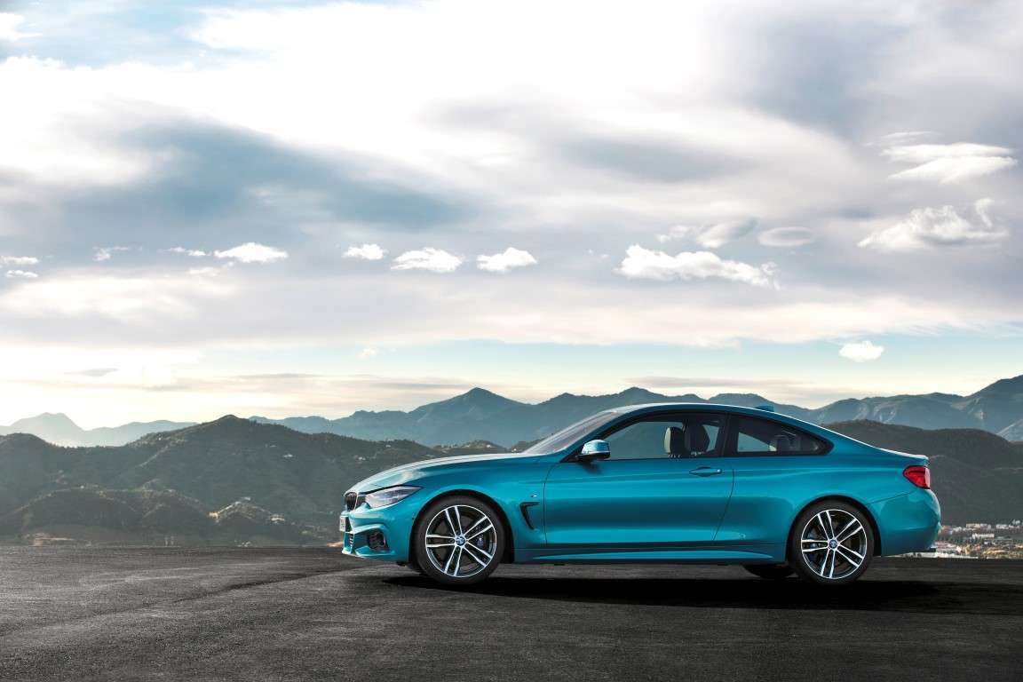 Scheda tecnica di BMW Serie 4 coupe restyling