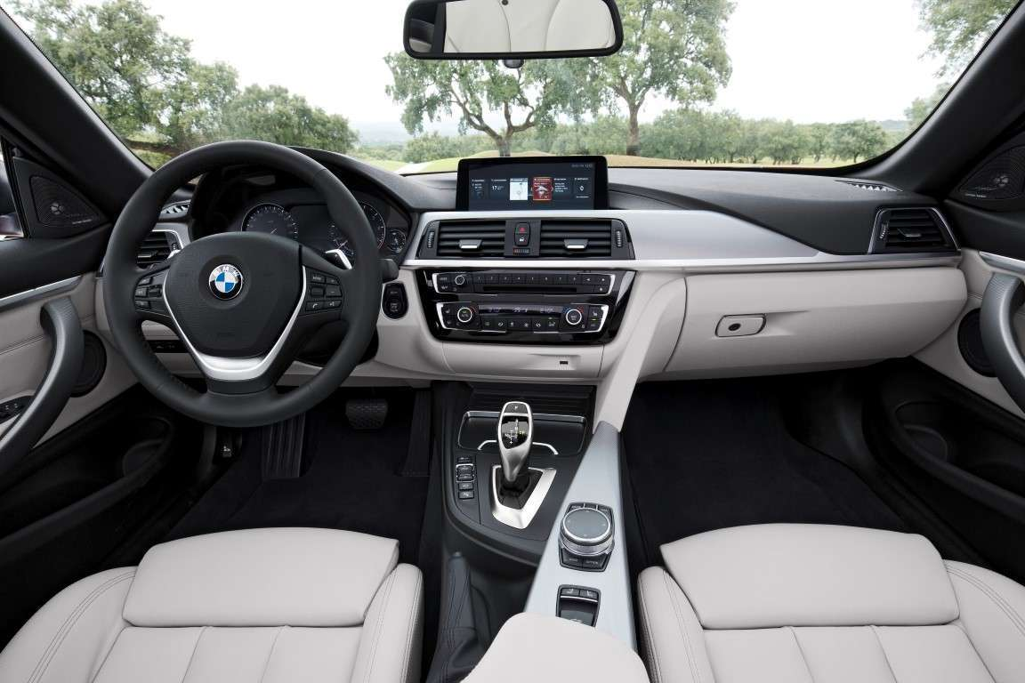 Interni di BMW Serie 4 restyling