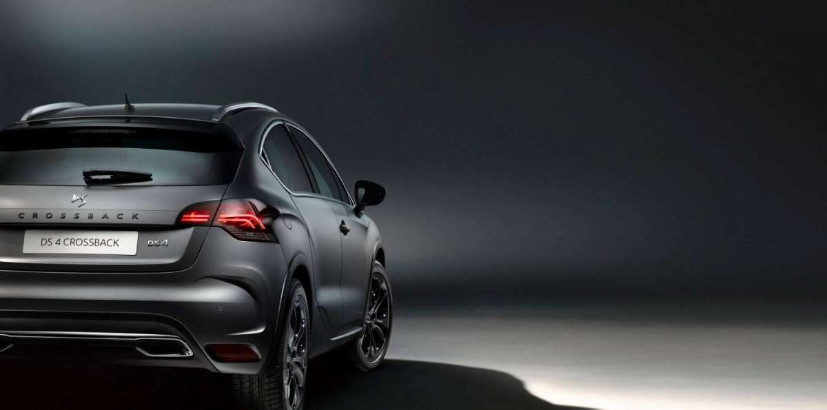 DS 4 Crossback Moondust posteriore