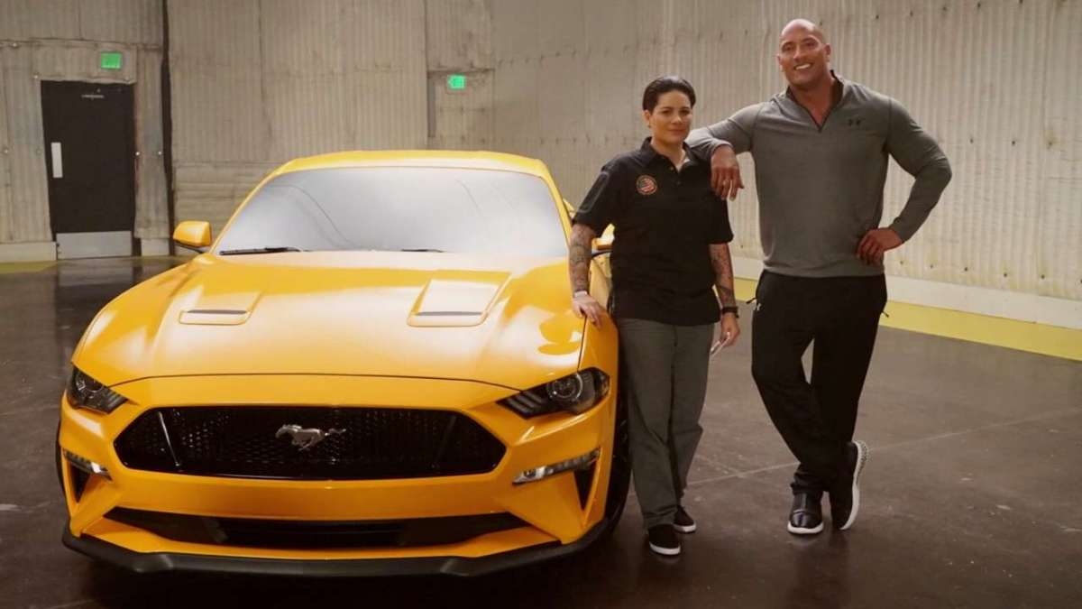 Ford Mustang 2018 Dwayne The Rock Johnson