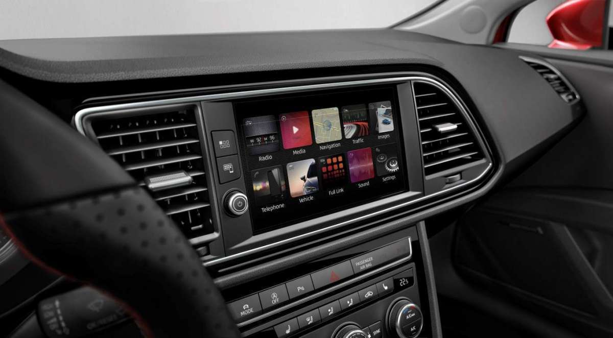 Infotainment di Seat Leon X-Perience Restyling 2017