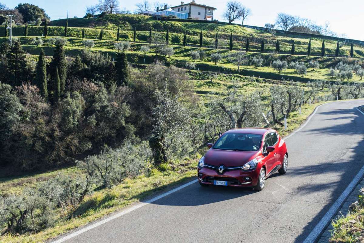 Renault Clio in Toscana