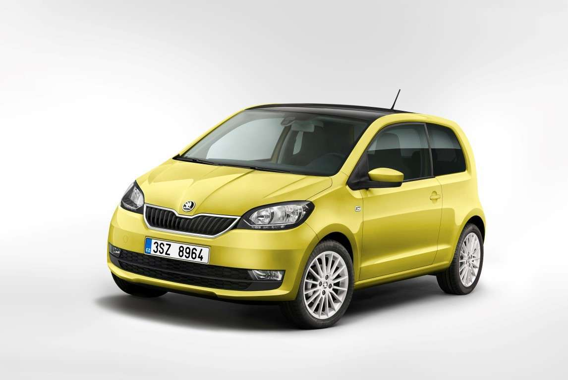Skoda Citigo restyling 2017