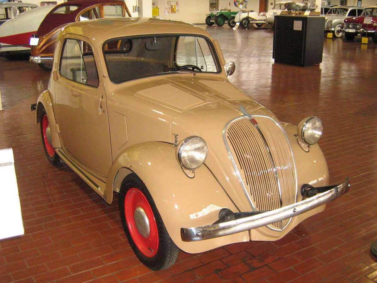 Fiat 500 A frontale
