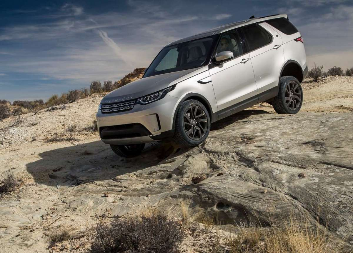 Immagini Land Rover Discovery Sd4 2017