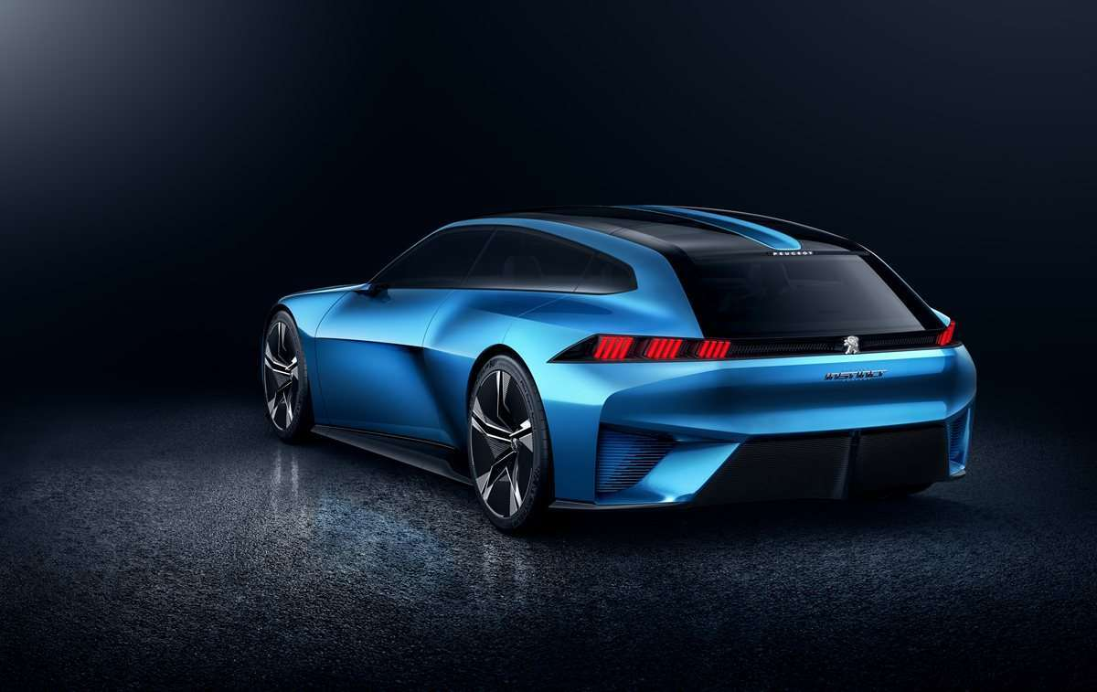 Shooting brake Peugeot Instinct Concept