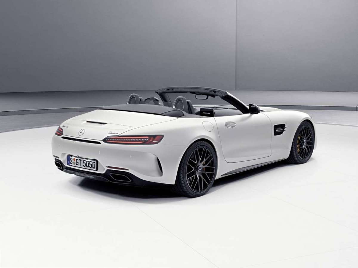 Mercedes AMG GT C Roadster Edition 50 posteriore