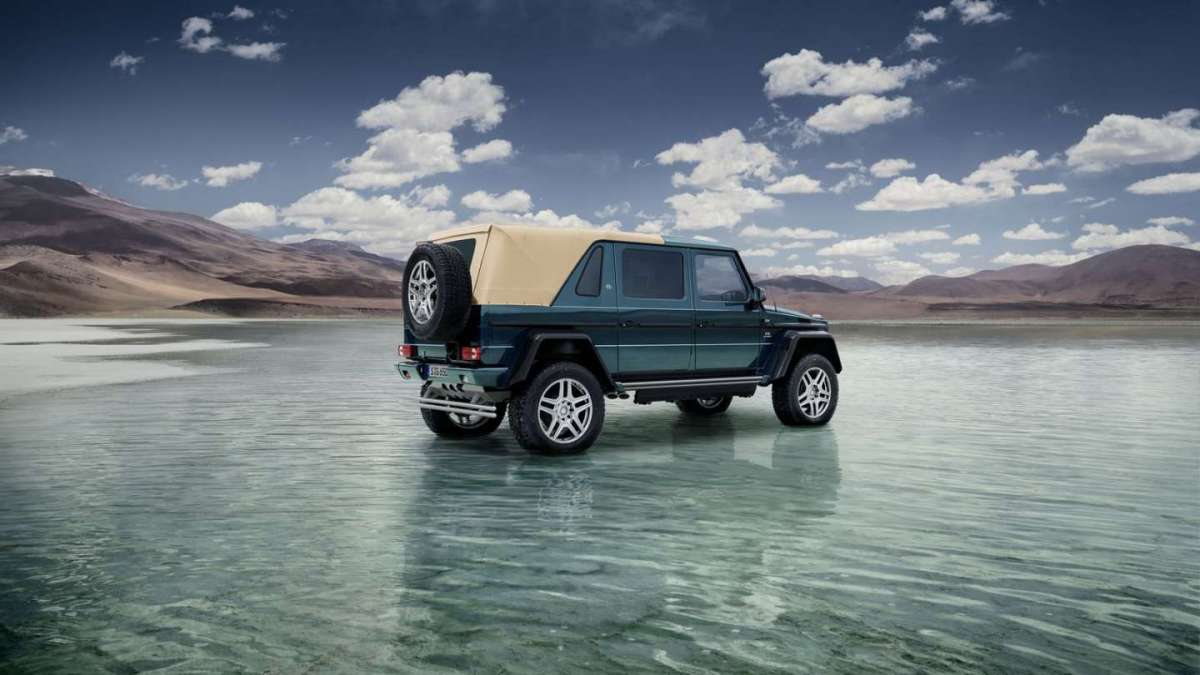 Mercedes-Maybach G650 Landaulet posteriore