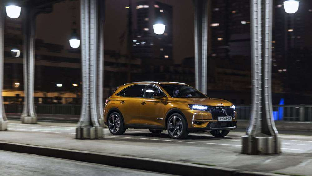 DS 7 Crossback 2018 arancio