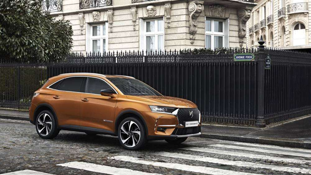 Laterale anteriore del DS 7 Crossback 2018