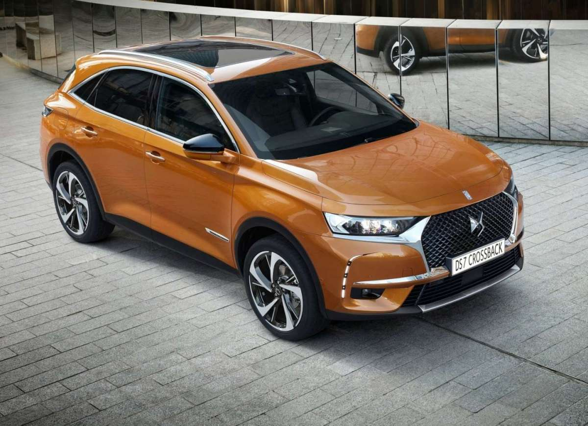 DS 7 Crossback 2018 con tetto in vetro