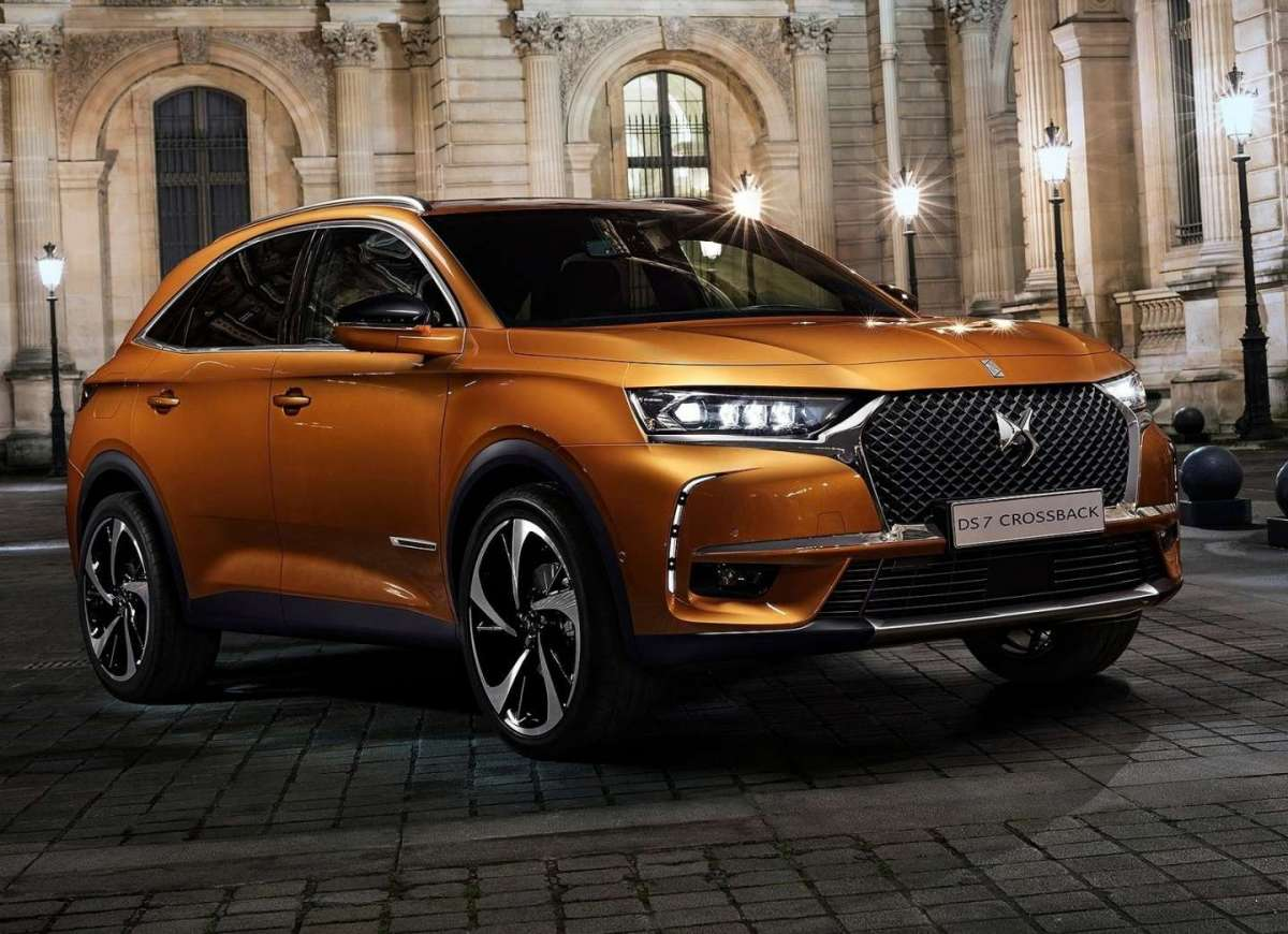 Design del DS 7 Crossback 2018