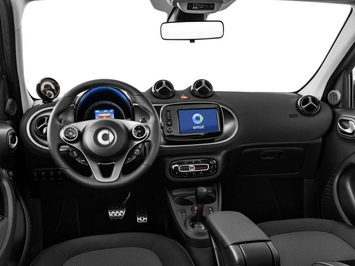 Smart ForFour CrossTown interni