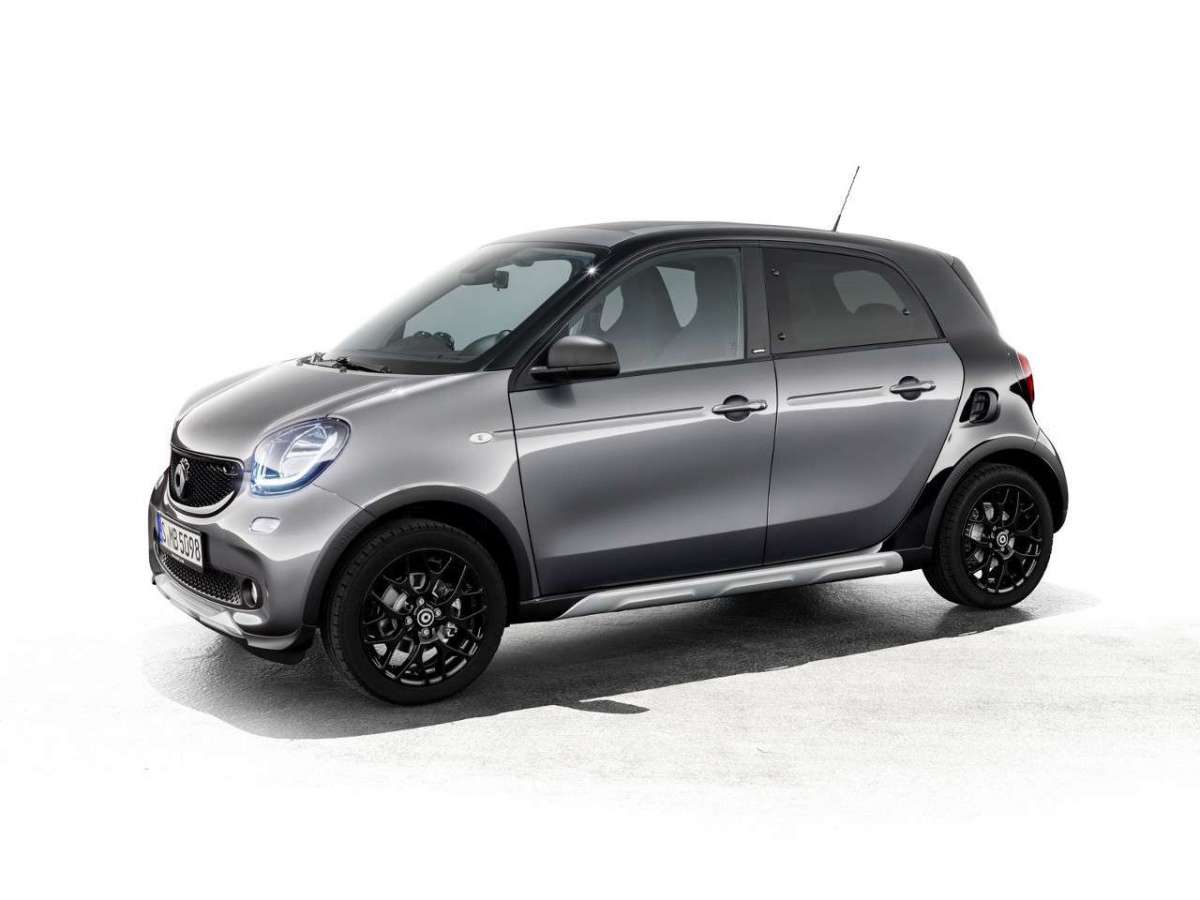 Smart ForFour CrossTown dotazione