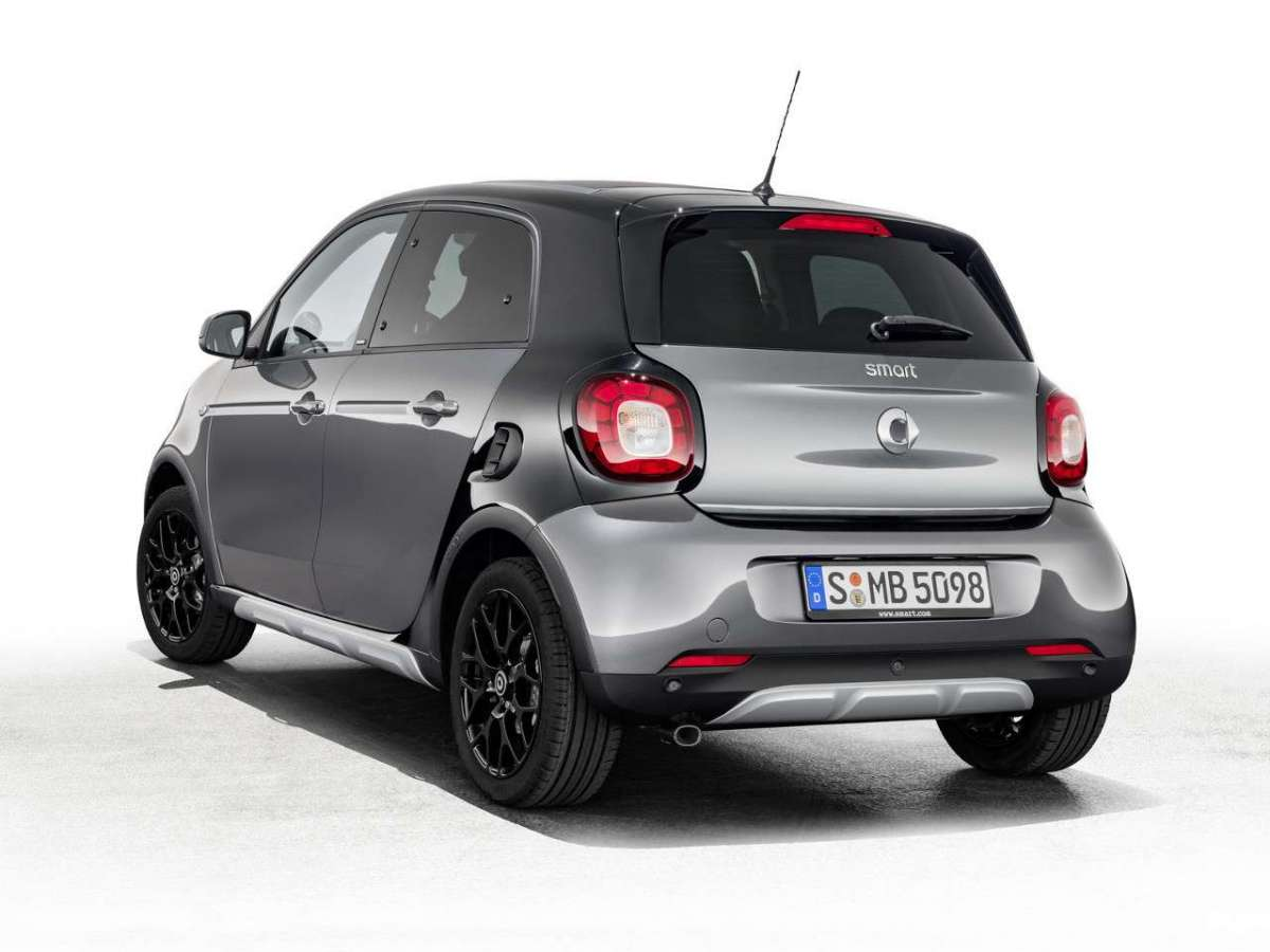 Smart ForFour CrossTown posteriore