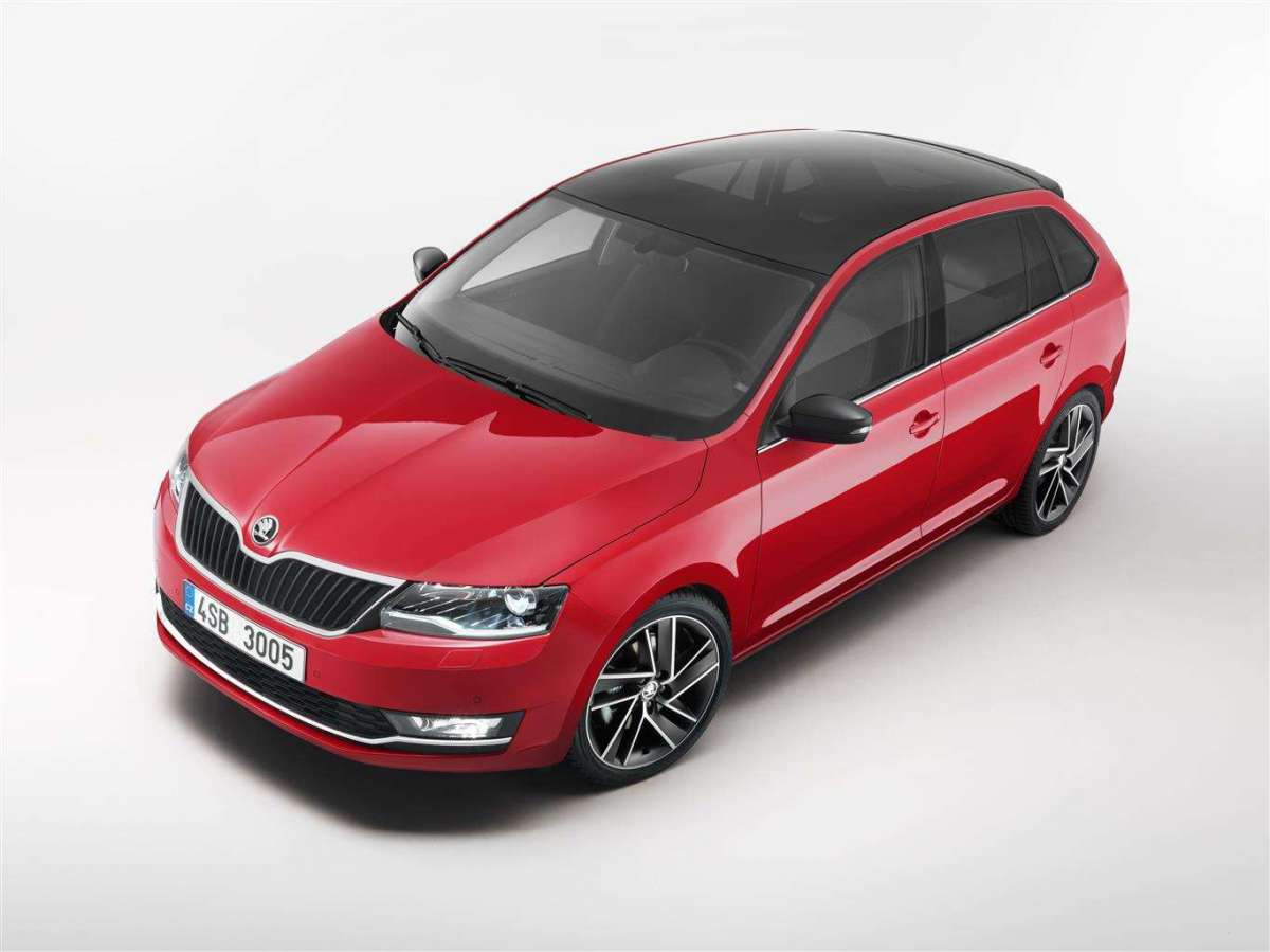 Nuova Skoda Rapid Spaceback 2017