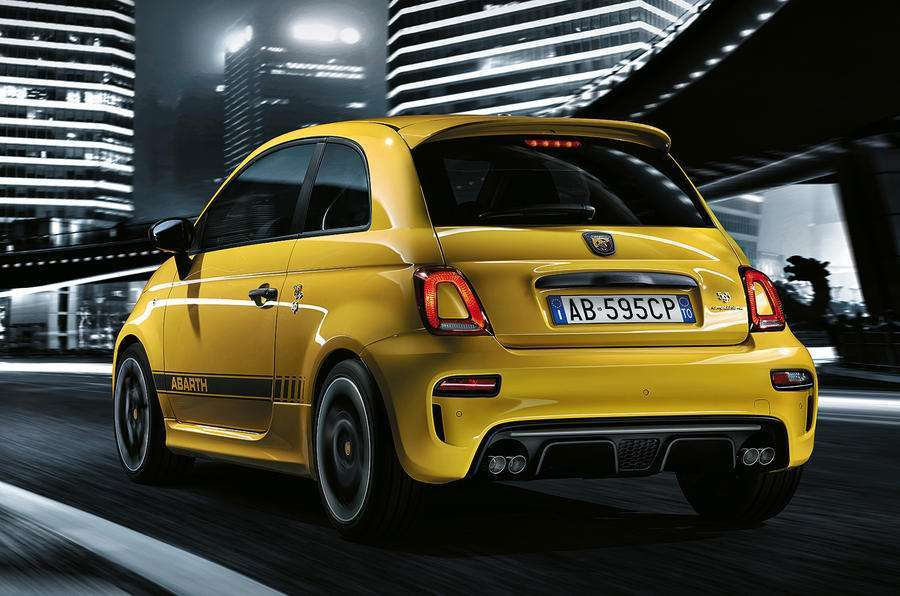 Abarth 595 Competizione, after restyling
