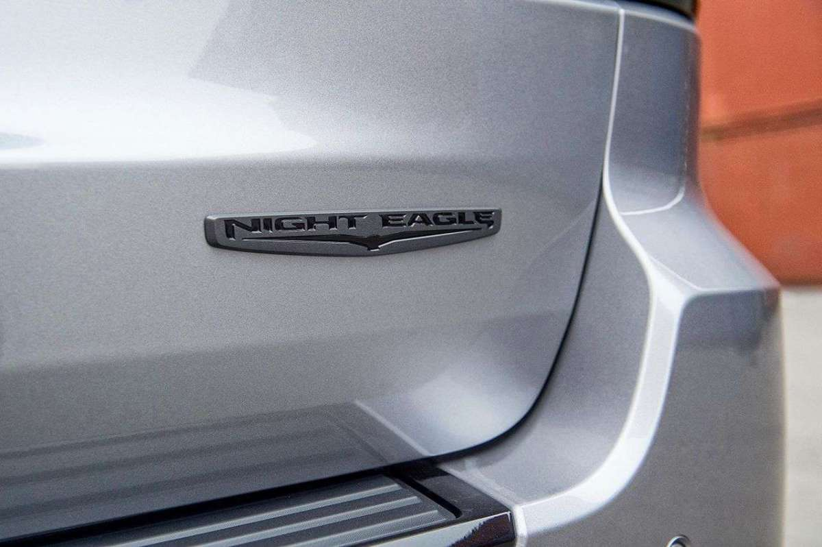 Jeep Grand Cherokee Night Eagle badge