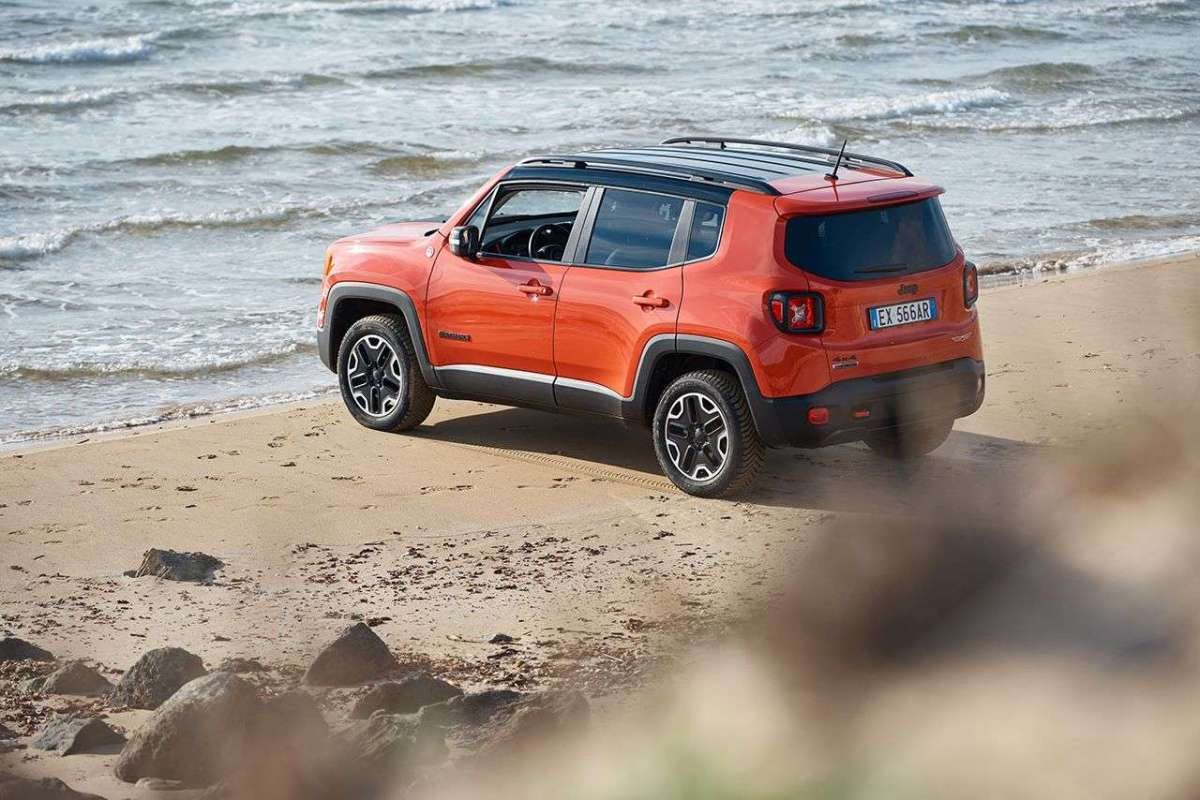 Jeep Renegade Trailhawk posteriore